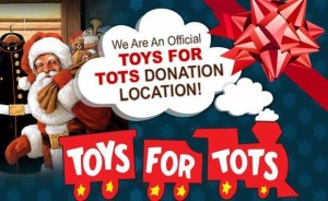 toys for tots santa