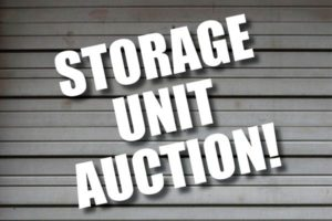 storage unit auction pic